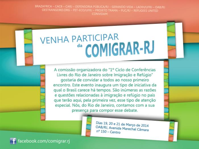 CONVITE - comigrar-rj