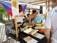 Barraca do Haiti. Foto: Pauline Almeida