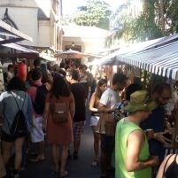 Vinhos, sorvetes, verduras, sementes e grãos também foram comercializados por produtores locais. Foto: Otávio Ávila