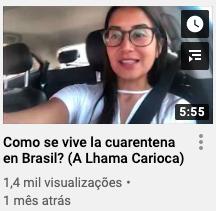 Lhama Carioca sobre o novo coronavírus