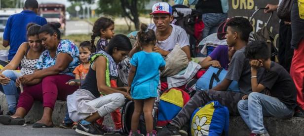 Migrantes Venezuelanos Creditos Vincent Tremeau